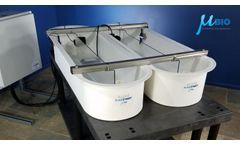 MicroBio Algae Raceway - Model RW0.5iZ - Magnetic Mount Impeller Mixer