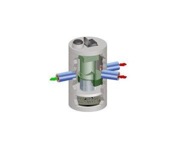 Echelon - Continuous Deflective Separator (CDS)