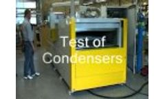 Air Condition Components Leak Testing Video