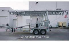 106ft Hybrid Trailer for Communications & Security - Video
