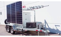 60ft Hybrid Trailer for Communications & Security - Video
