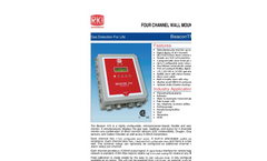 4 Channel Wall Mount Controller Technical Specification