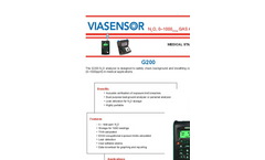 G200-00N N2O Analyzer For Medical Applications - Product Datasheet