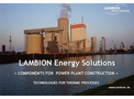 COMPONENTS FOR POWER PLANT CONSTRUCTION
