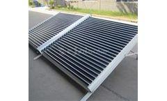 Ejaisolar - Model YYJ-E01 & YYJ-E02 - Non-Pressurized Project Solar Collector