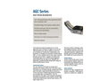 Aerotech - Model AGC Series - Motorized Mechanical Goniometer - Brochure