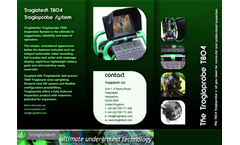 Model T804 - Digital Pushrod Drain Camera Brochure