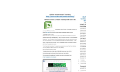 Online Wastewater Training Options available