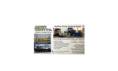 Custom Dredge Works Pump Packing - Brochure