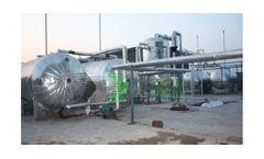 Model HJ-Z-20 20 tons  - Waste Oil Distillation Plant