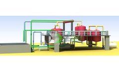 Model CL-B-5 - Waste Oil Distillation Plant