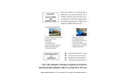 Dewatering Contract Services