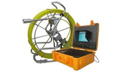 Forbest - Model 3488T - FB-PIC3488-400 - Long Range Sewer Camera with 400ft Cable and Footage Counter