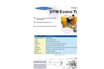 DTM - Econo Series - Trailer Mounted Brochure