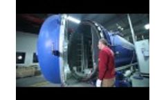 Akarmak Glass Lamination Autoclaves Video