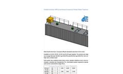 Containerized Mobile Modular Membrane Bioreactor (MBR) - Brochure