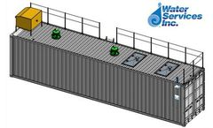 Water Services - Model 52k - Containerized Modular Mobile MBR (Membrane Bioreactor) Water Treatment Units