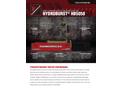 HydroBurst - Model HB5058 - Static Pipe Bursting Equipment Brochure