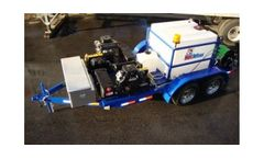 Model SKSGX690SA7400CWM - Single Axle Trailer Mounted Cold Water Sewer & Drain Line Jetter