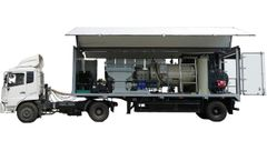 Model MWM Series - Mobile Medical Waste Treatment Station