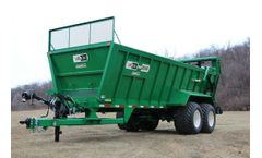 Pik Rite - Model HP 880 - Hydra-Pull Manure Spreader