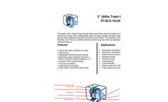 Utility Trash Pump- Brochure