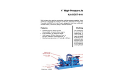 4 High-Pressure Jet Pump 4JA-DDST-4-914