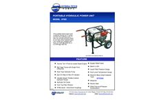 Hydra-Tech HT6D Diesel-Powered Units - Specifications Sheet