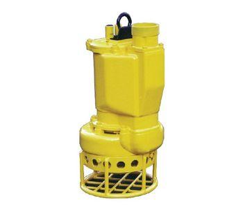 """Hydra-Tech - Model S4CSL - 4"""" Hydraulic Submersible Sand/Slurry Pump"""