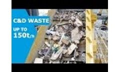 C&D Waste Recycling and Screening Video