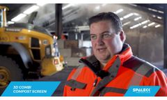 Processing of compost and biomass - How to increase your screening quality - SPALECK 3D COMBI SCREEN- Video