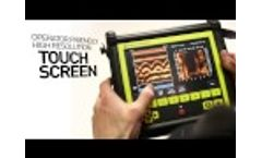 Conquest 100 Concrete Imaging with Ground Penetrating Radar GPR Video