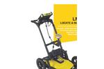 Sensors & Software - Model LMX200 - Ground Penetrating Radar (GPR) Locating Tool Brochure