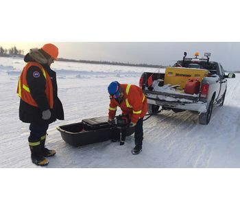IceMap - Real Time Ice Thickness Measurements System