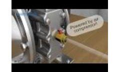 Yamada 3D Double Diaphragm Pump Animation Video