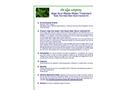 Azul Shock Treatment Kit - Brochure