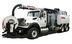 Vacall - Model AllJetVac P Series - Combination Sewer Cleaners