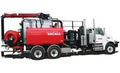 Vacall - Model AllJetVac R Series - Combination Sewer Cleaners