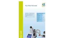 KRÜSS - Model FP8700 - Flame Photometer - Automatic Unit with Dilution - Brochure