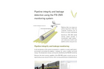 Pipeline leakage and integrity monitoring