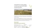 Slope displacement monitoring