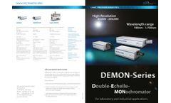 Demon - Double Echelle Monochromator - Datasheet