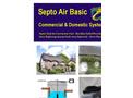 Septo-Air Basic System - <40 People / BOD <7760gm/hr - Septic Tank Conversion Unit – Datasheet