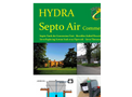 Septo-Air Ultimate System - <55 People / BOD <11654gm/hr - Septic Tank Conversion Unit – Datasheet