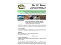 Hydra - Bio HC Buster For Removes Hydrocarbon Wastes from Liquids and Solids Datasheet