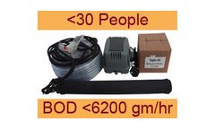 Septo-Air Basic System - Model <30 People / BOD <6200gm/hr - Septic Tank Conversion Unit