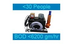 Septo-Air Ultimate System - Model <30 People / BOD <6200gm/hr - Septic Tank Conversion Unit
