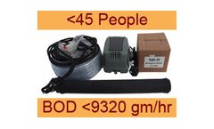 Septo-Air Basic System - Model <45 People / BOD <9320gm/hr - Septic Tank Conversion Unit