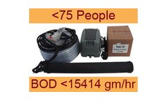 Septo-Air Basic System - Model <75 People / BOD <15414gm/hr - Septic Tank Conversion Unit