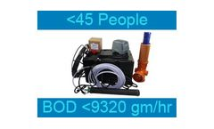 Septo-Air Ultimate System - Model <45 People / BOD <9320gm/hr - Septic Tank Conversion Unit